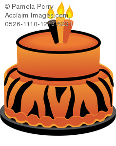 Halloween birthday cake clipart picture transparent stock Acclaim Images - tiger cake photos, stock photos, images, pictures ... picture transparent stock