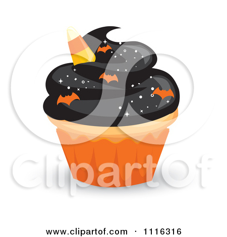 Halloween birthday cake clipart clipart download Clipart Three Tiered 50th Birthday Cake With Bats And Black ... clipart download