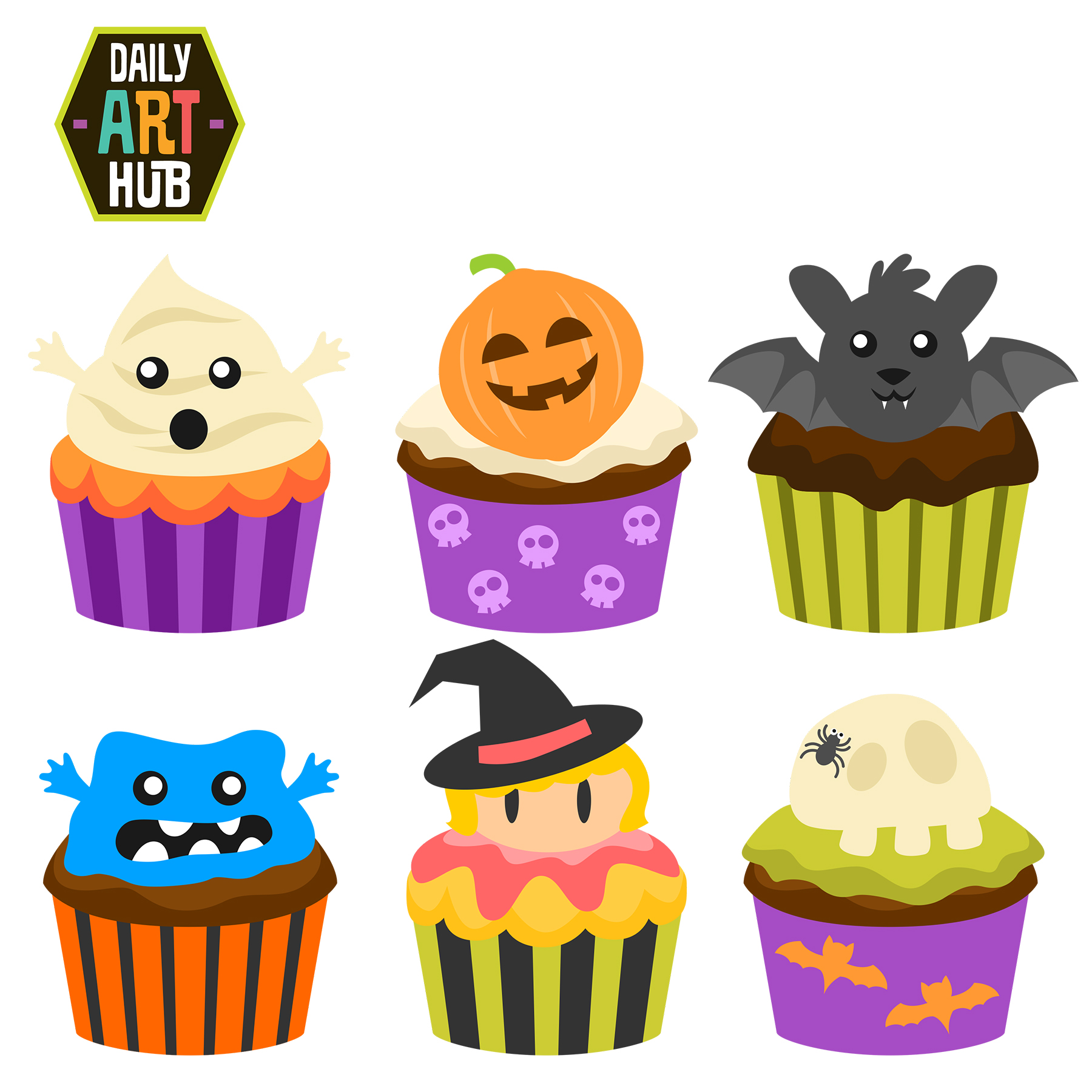 Halloween birthday cake clipart picture transparent library Halloween Birthday Cake Clipart - Clipart Kid picture transparent library