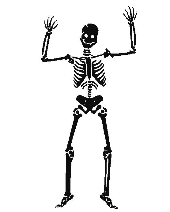 Halloween clipart skeletons black and white clip art freeuse stock clipartist.net » Clip Art » Kish Holmes Halloween SVG clip art freeuse stock