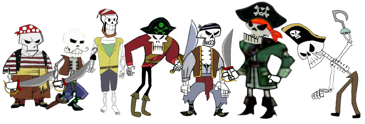 Halloween bones clipart clipart library Image - Larry bones pirate skeleton crew.png | The Modifyers ... clipart library