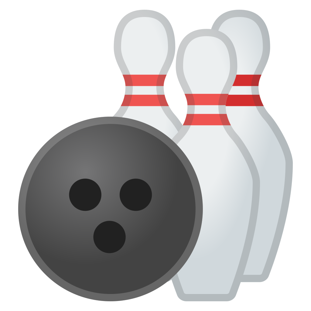 Halloween bowling clipart clip art library Bowling Icon | Noto Emoji Activities Iconset | Google clip art library