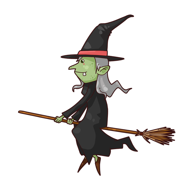 Halloween broom clipart vector stock 28+ Collection of Witch Riding Broom Clipart   High quality, free ... vector stock