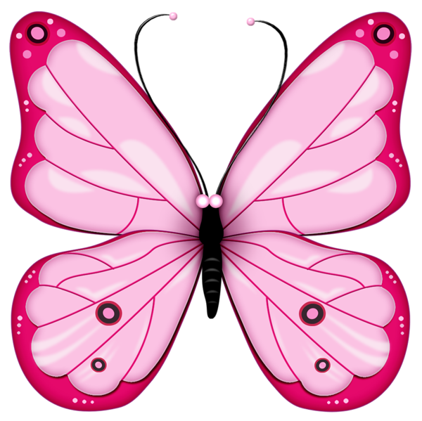 Heart butterfly clipart clip art free download Pink Transparent Butterfly Clipart | Gallery Yopriceville - High ... clip art free download