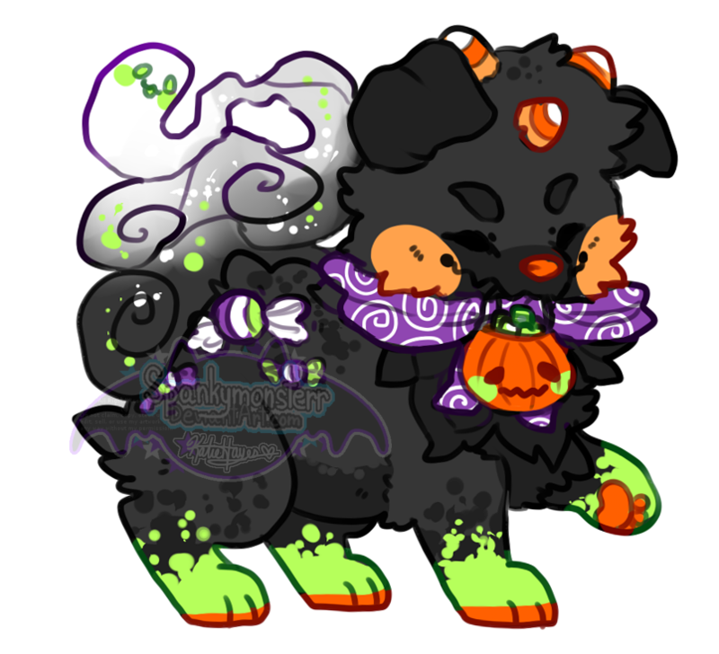 Halloween candies clipart vector transparent stock Halloween Candy Reff (art by witchpaws) by earthcult on DeviantArt vector transparent stock