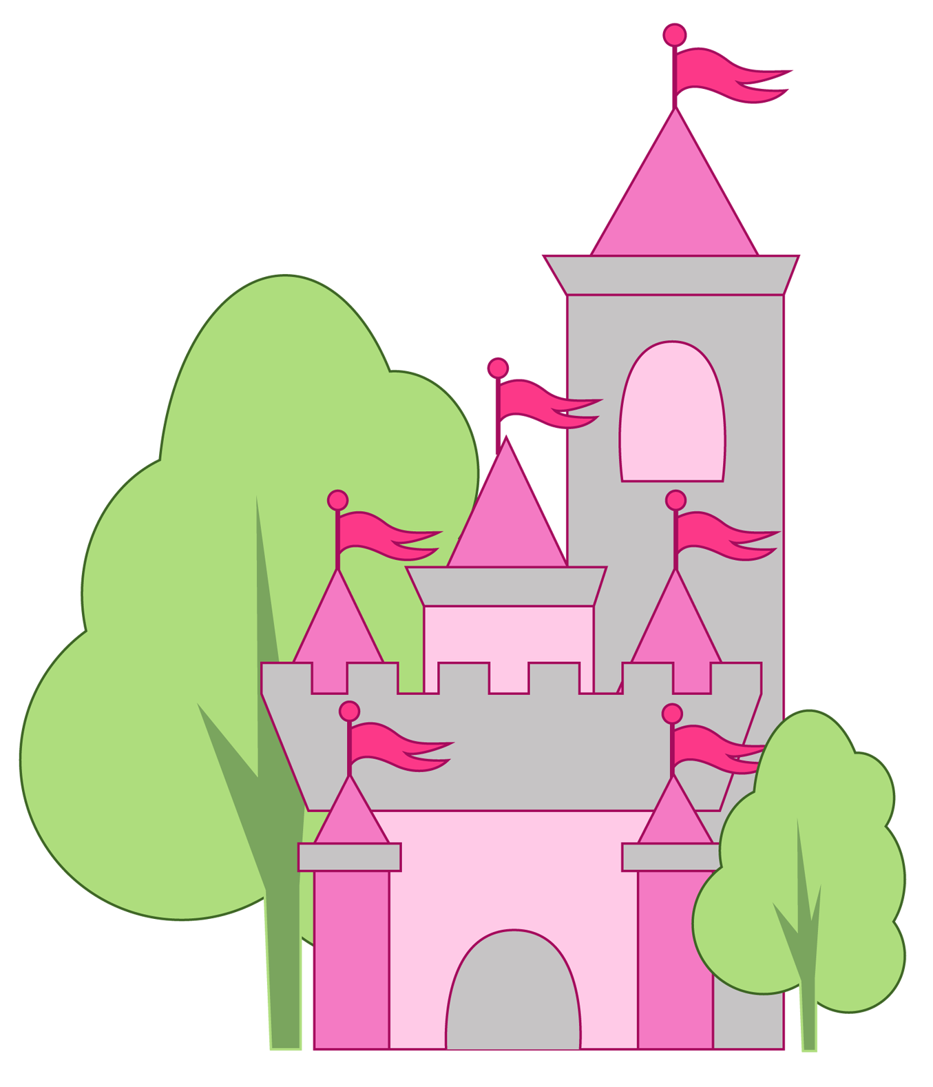 Halloween castle clipart png black and white library Spooky Castle Clipart at GetDrawings.com | Free for personal use ... png black and white library