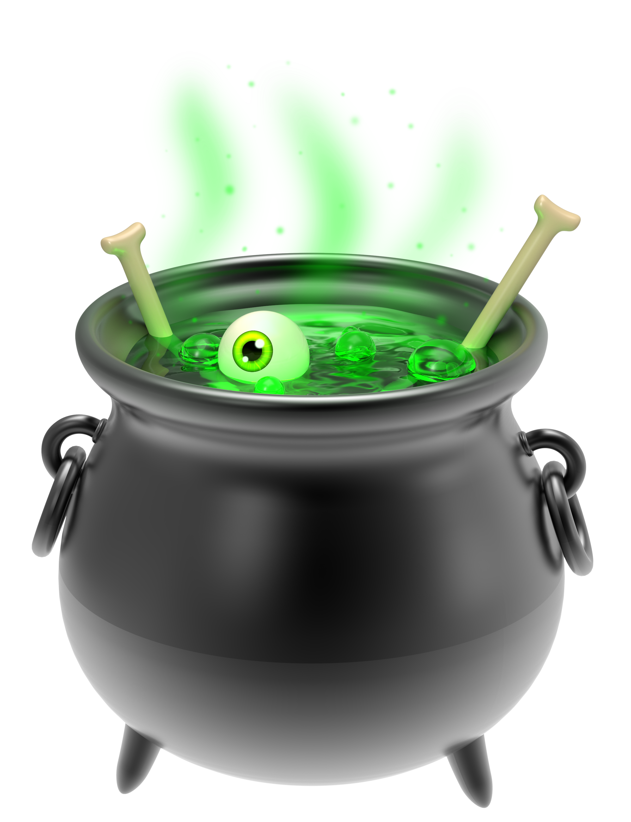 Halloween cauldron clipart vector royalty free library Witch Black Cauldron PNG Clipart Image   Gallery Yopriceville ... vector royalty free library
