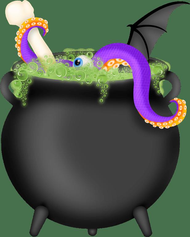 Halloween cauldron clipart graphic freeuse library Squirmy Halloween Ideas   Family Reunion Helper graphic freeuse library