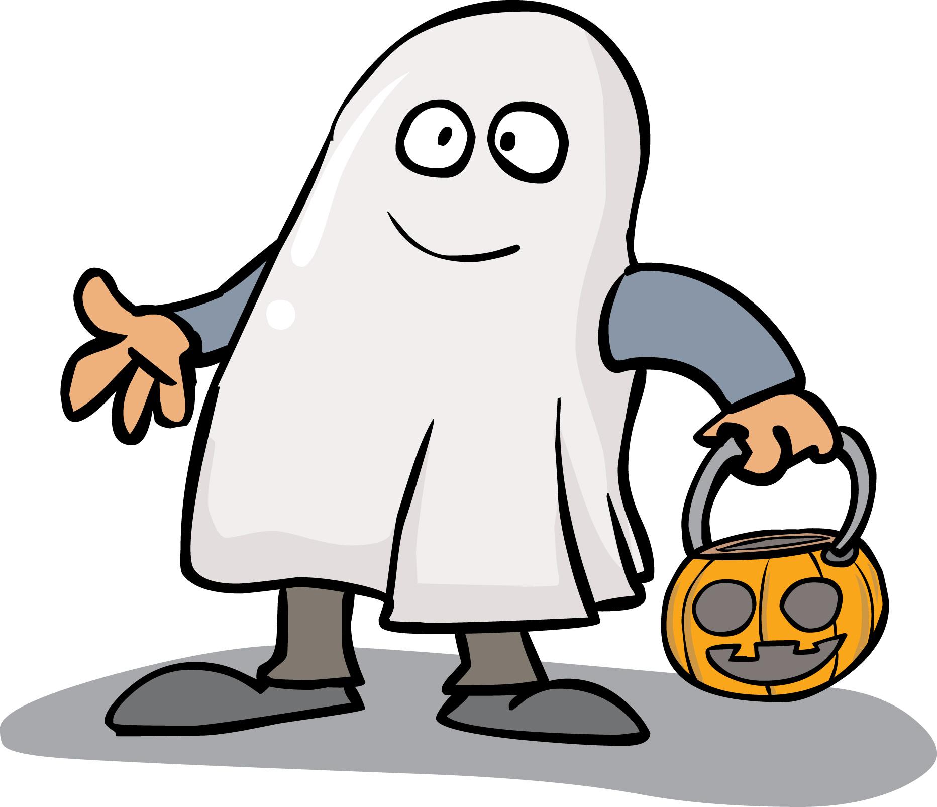 Halloween character pumpkin girl clipart png transparent stock Halloween character ghost clipart - ClipartFest png transparent stock