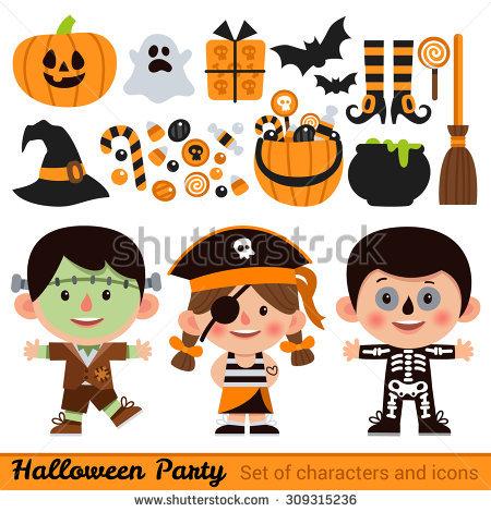 Halloween character pumpkin girl clipart royalty free library Pumpkin Girl Stock Photos, Royalty-Free Images & Vectors ... royalty free library
