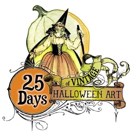 Halloween character pumpkin girl clipart picture transparent download Retro Halloween Pirate Pinup Girl Clip Art @ Vintage Fangirl picture transparent download