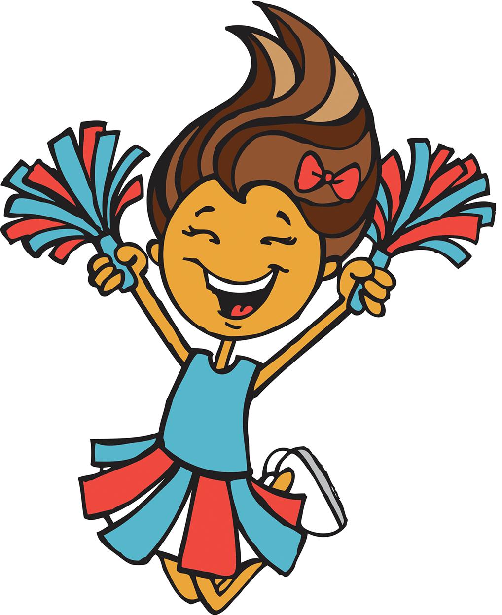 Halloween cheerleader clipart image royalty free library Cheerleader Cartoon Illustration - Cheerleaders cheerleaders 1018 ... image royalty free library