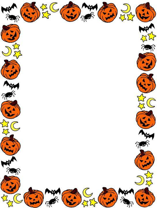 Halloween clip art borders image Halloween Border Clipart | Clipart Panda - Free Clipart Images image