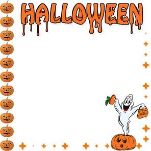 Halloween clip art borders transparent Halloween Borders - Free Happy Halloween Border Clip Art transparent