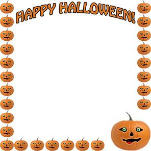 Halloween clip art borders jpg freeuse download Halloween Borders - Free Happy Halloween Border Clip Art jpg freeuse download
