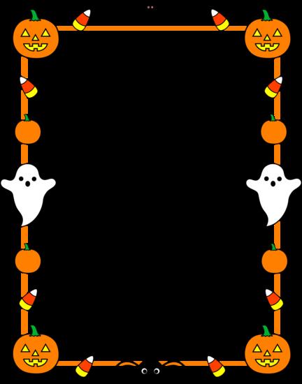 Halloween clip art borders banner freeuse download Halloween Border Clipart | Clipart Panda - Free Clipart Images banner freeuse download