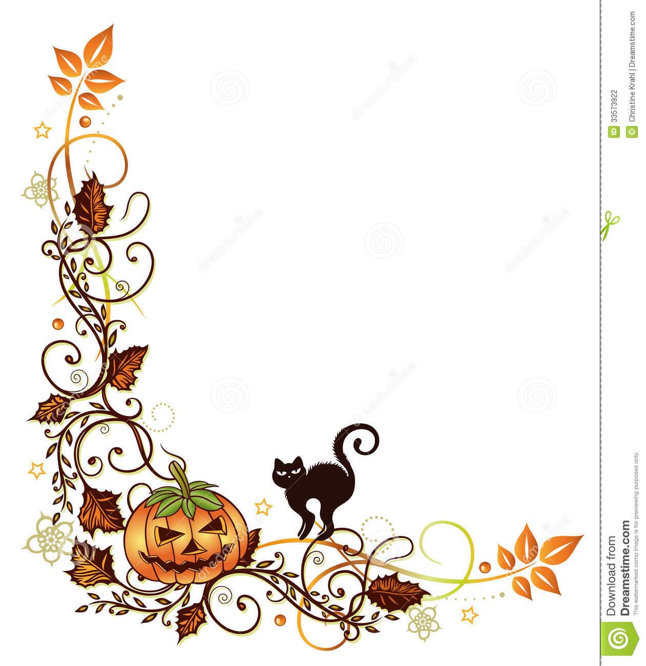 Halloween clip art borders svg royalty free stock Halloween Border Clipart | Clipart Panda - Free Clipart Images svg royalty free stock
