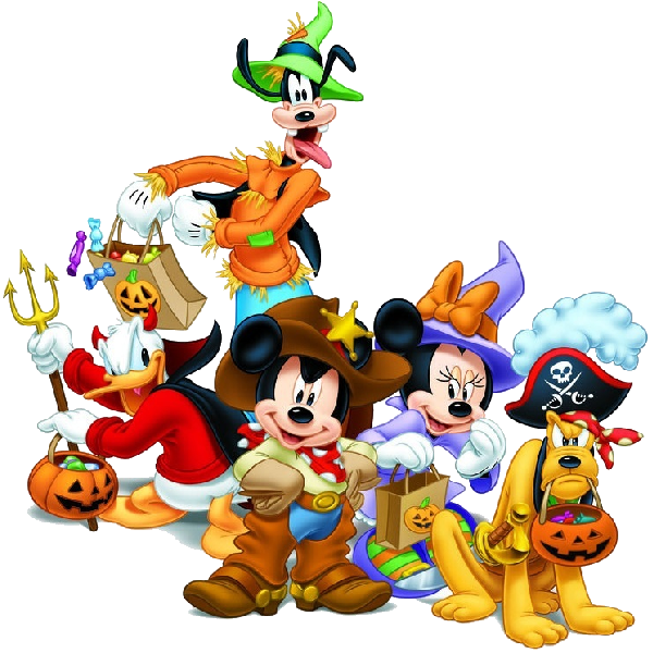 Mickey mouse halloween clipart free graphic transparent stock Mickey Mouse and friends halloween clipart_3.png (600×600) | Disney ... graphic transparent stock