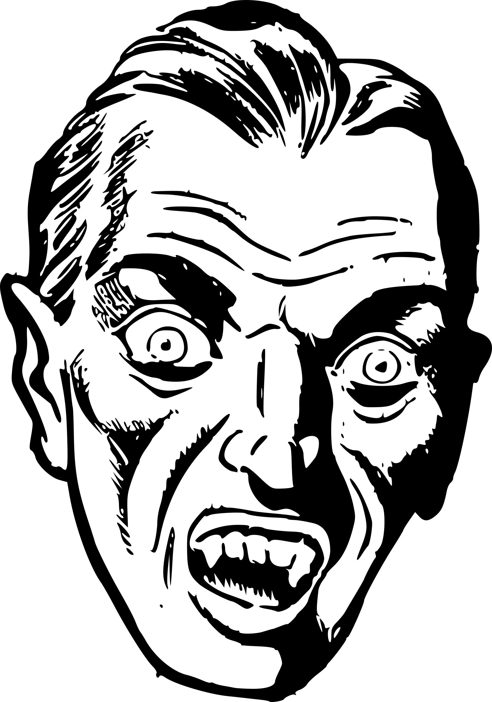 Halloween clipart black and white vampire jpg library Vampire Mouth Drawing at GetDrawings.com | Free for personal use ... jpg library