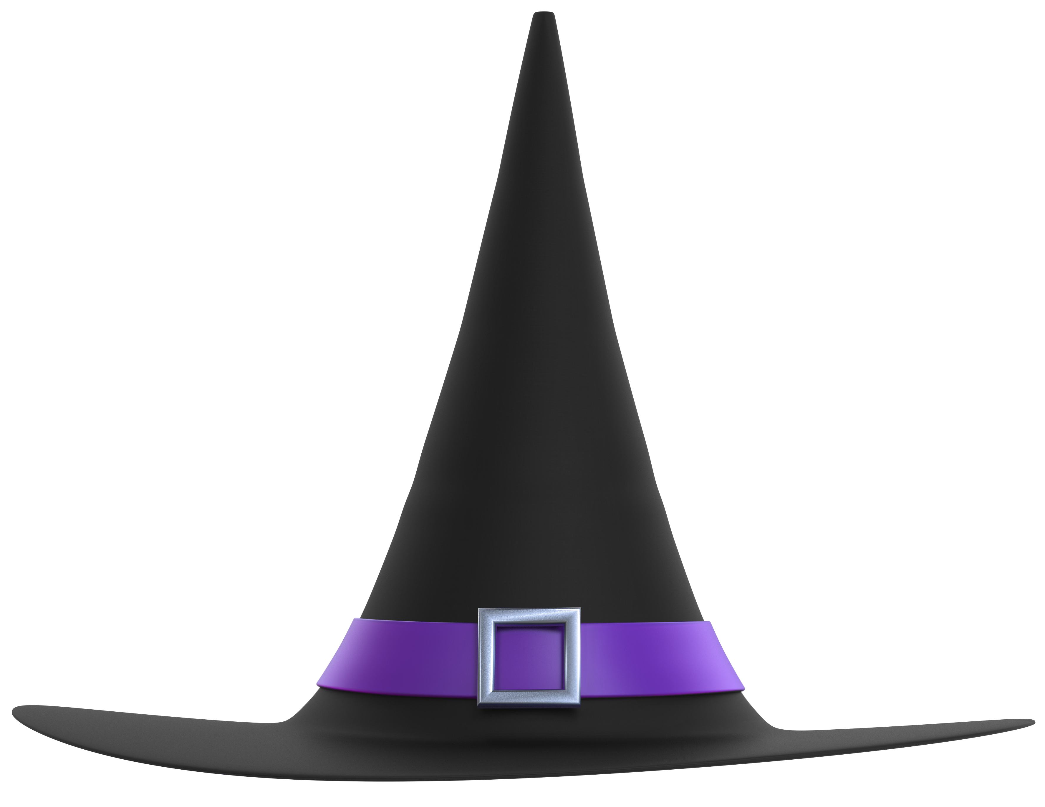 Halloween clipart black background vector library library Black and Purple Witch Hat PNG Clipart Image | Gallery Yopriceville ... vector library library