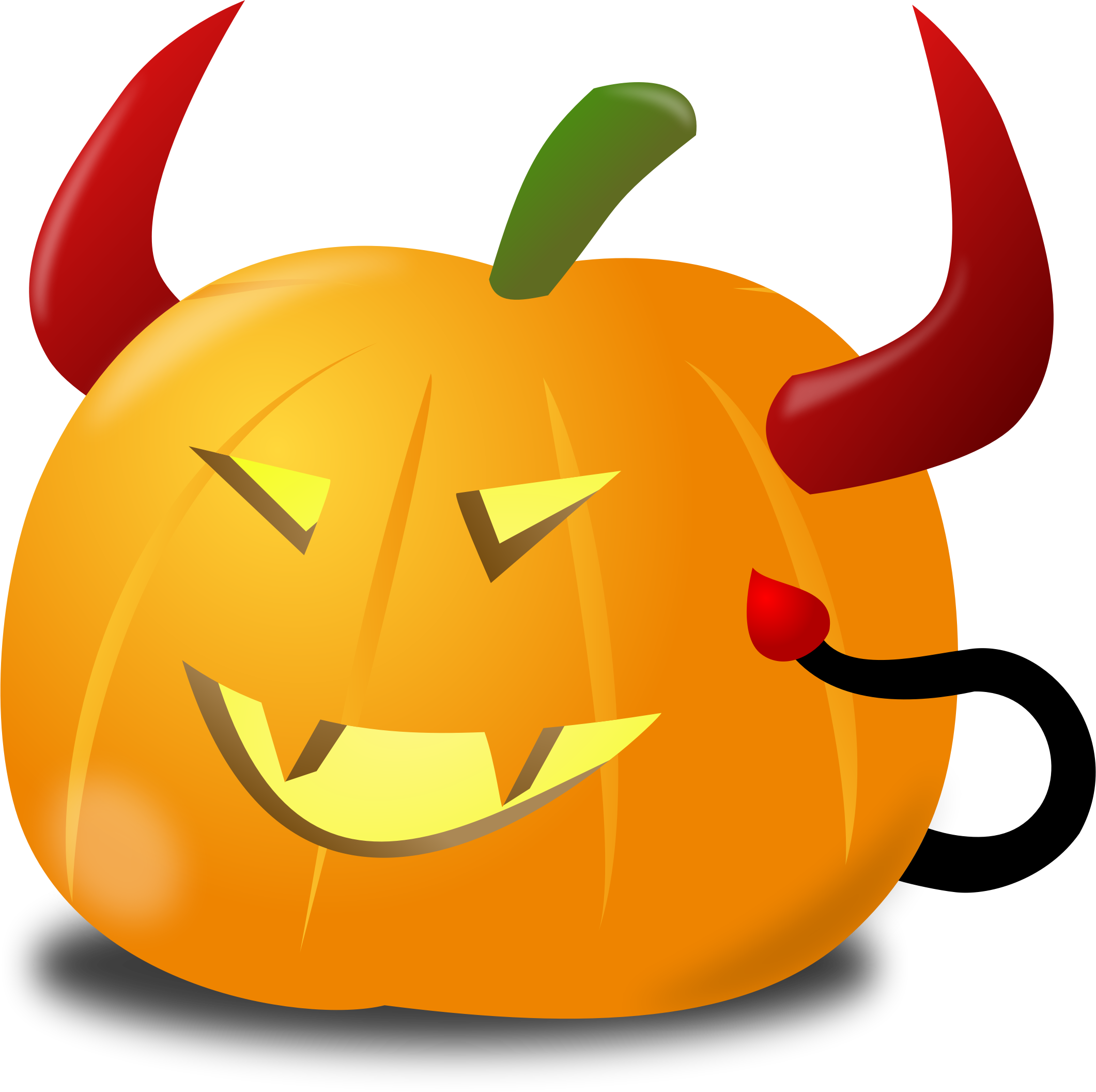 Halloween clipart devil svg library download Clipart - Devil pumpkin svg library download