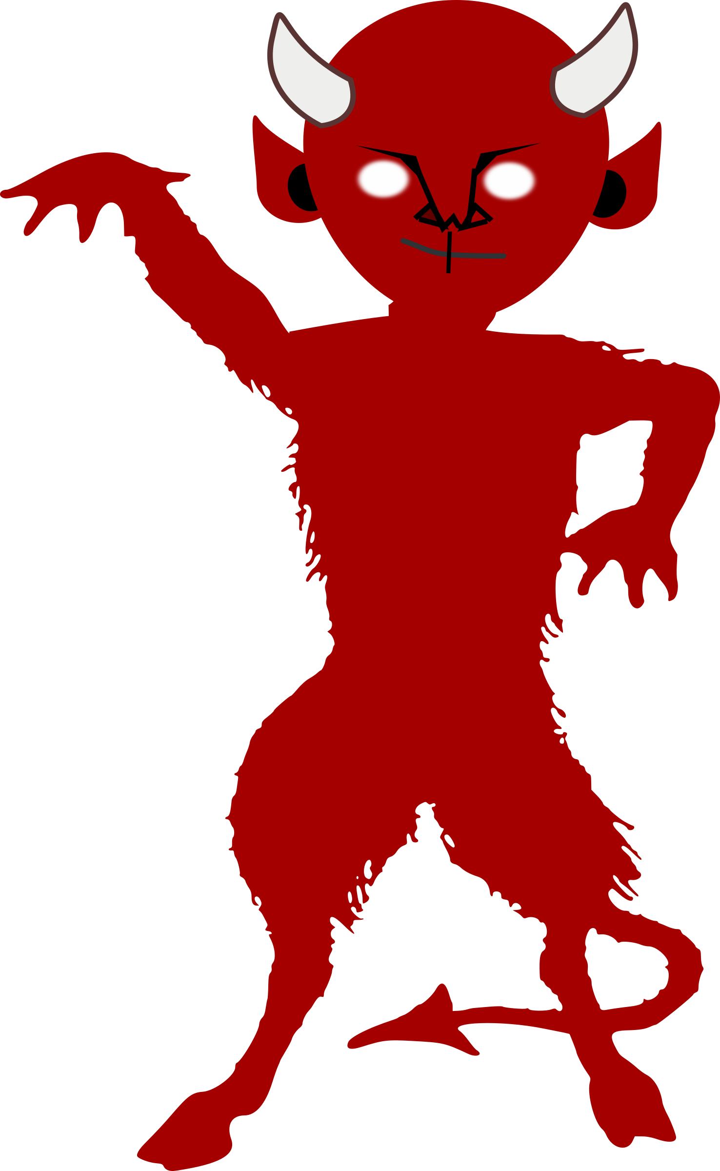 Halloween clipart devil picture royalty free library Demon Silhouette at GetDrawings.com | Free for personal use Demon ... picture royalty free library