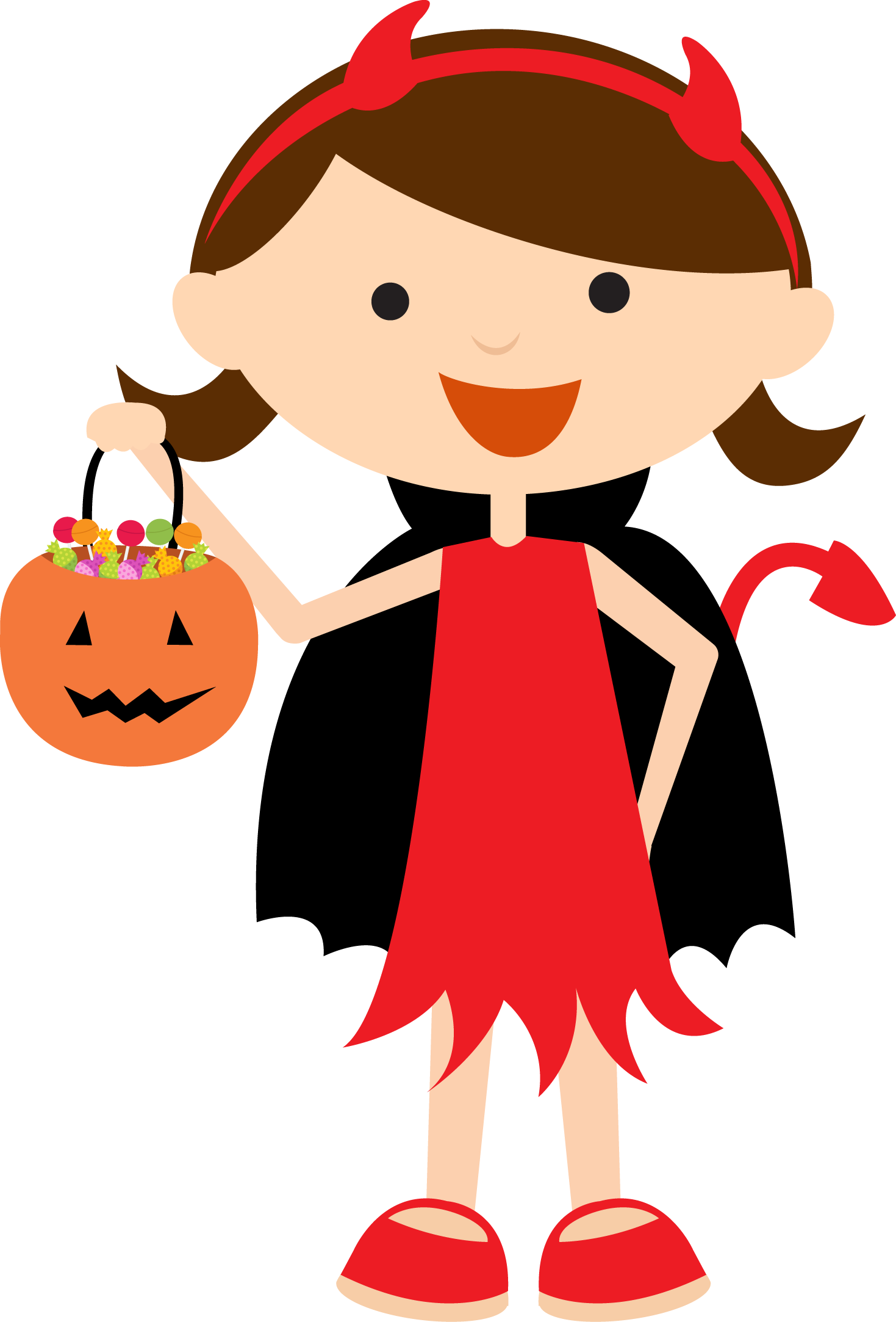 Halloween clipart devil svg freeuse download Halloween - BDhalloweentrickortreat3.png - Minus | felt- holidays ... svg freeuse download