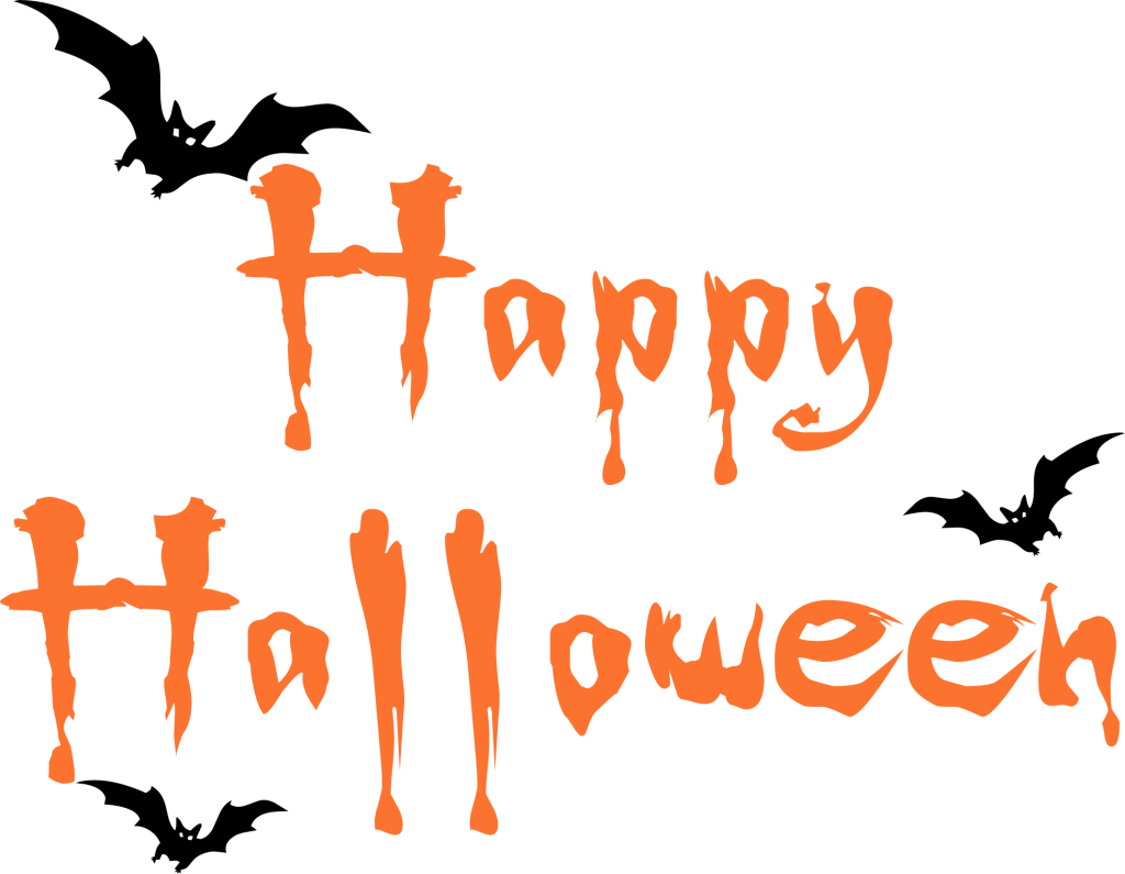 Happy halloween clipart font royalty free library Happy Halloween For Facebook Clipart - Clipart Kid royalty free library