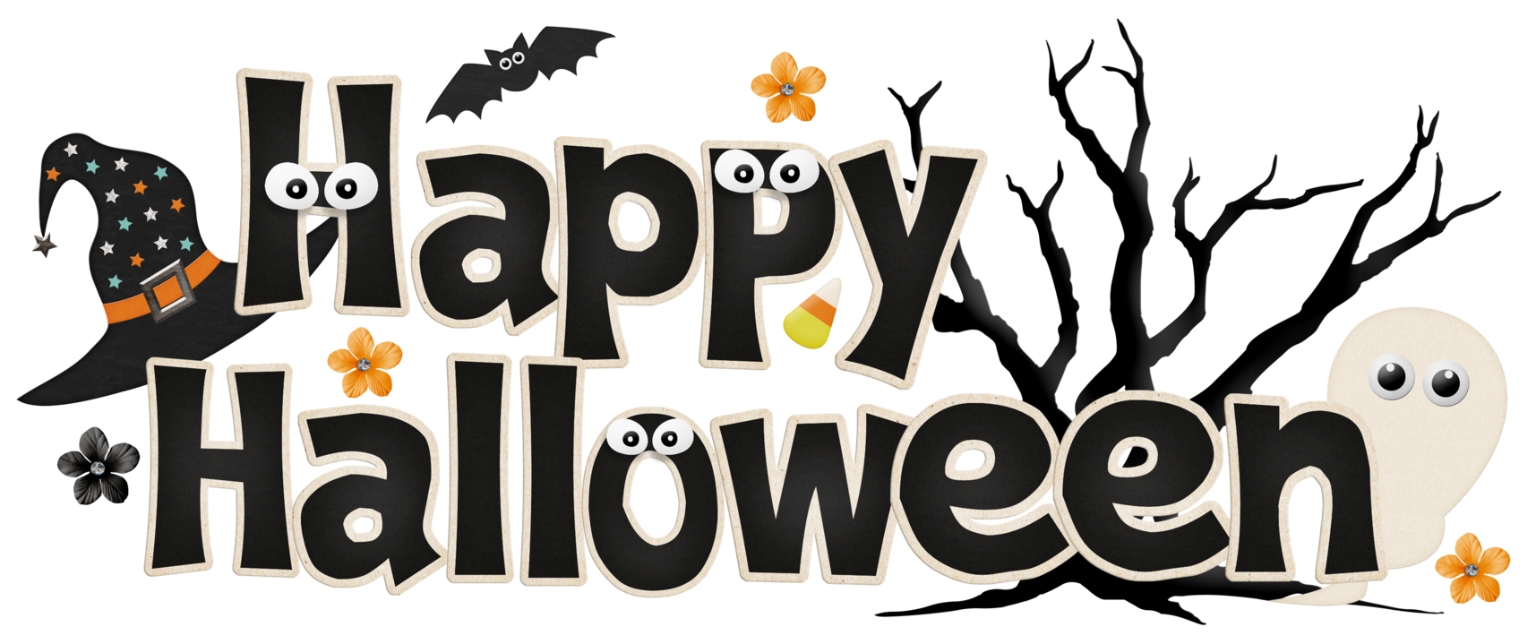 Happy halloween ghost clipart jpg library Happy Halloween Png Fun Kids Ghost jpg library