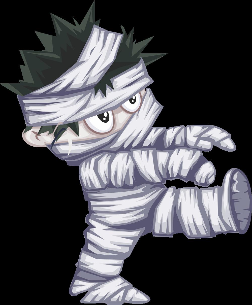 Halloween mummy clipart