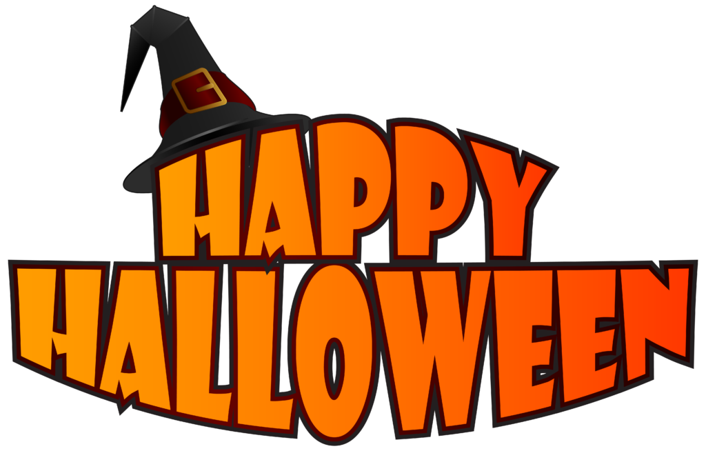 Happy halloween word clipart svg royalty free library Free happy halloween pumpkin,spider,candy,cat clipart images for ... svg royalty free library