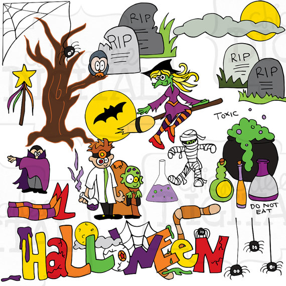 Halloween clipart printables svg transparent download Halloween clipart printables - ClipartFest svg transparent download