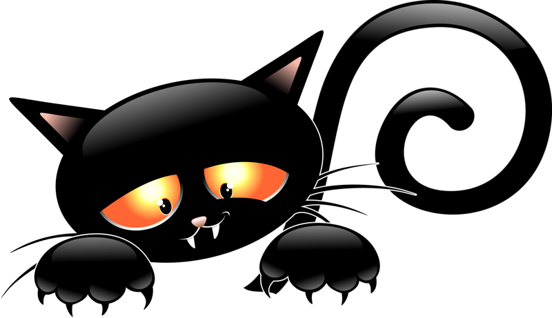Vintage halloween clipart black and white cat transparent download Pin by Маргарита. Шубина on Котики. | Pinterest transparent download