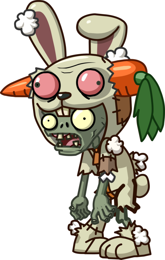 Halloween clipart zombie png download Rabbit Mascot Zombie | Plants vs Zombies | Pinterest | Plants vs zombies png download
