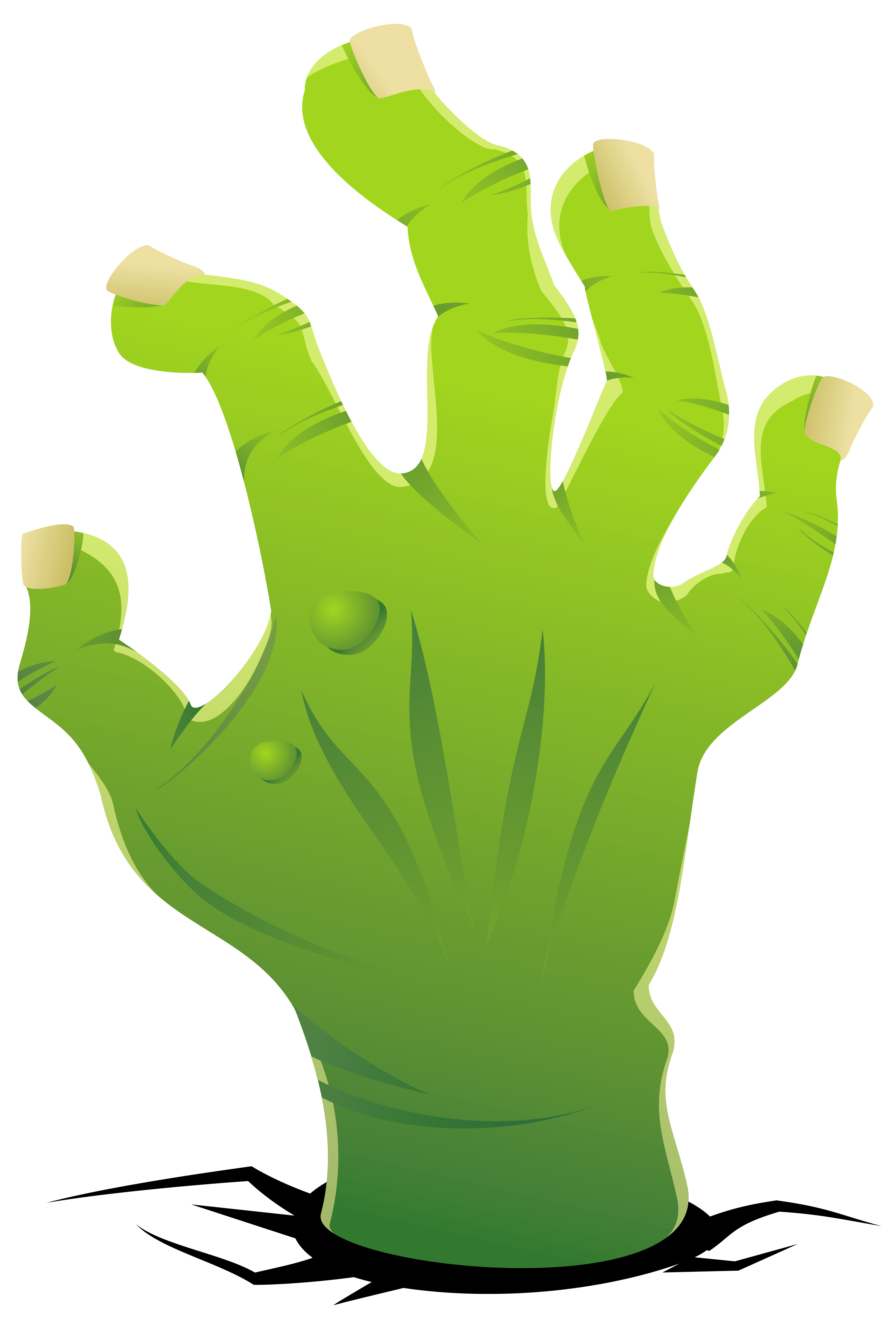 Zombie halloween clipart clipart black and white stock Zombie Hand PNG Clipart Image | Gallery Yopriceville - High-Quality ... clipart black and white stock
