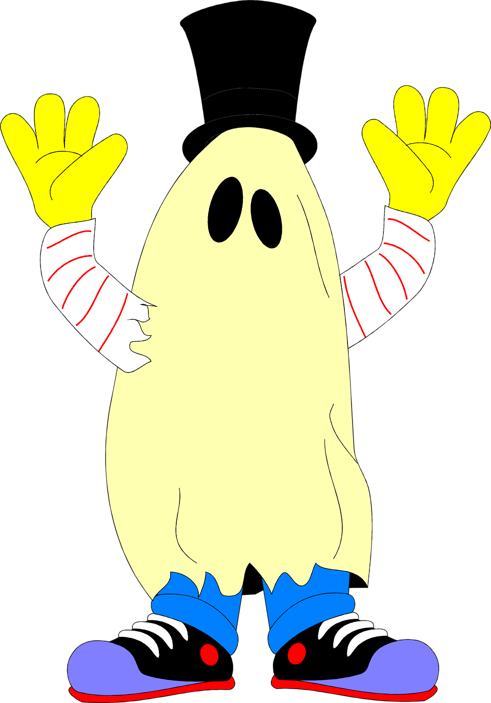 Halloween costumes clipart free clipart transparent stock Ghost | Free Stock Photo | Illustration of a ghost costume | # 4901 clipart transparent stock