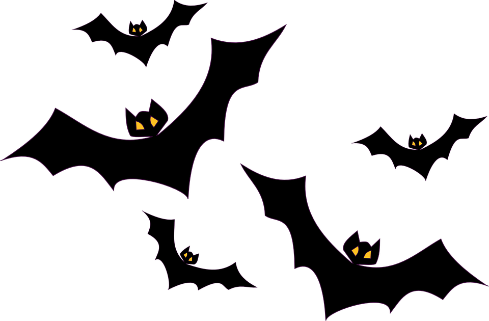 Halloween craft clipart banner black and white library Bat Outline Clipart | Free download best Bat Outline Clipart on ... banner black and white library