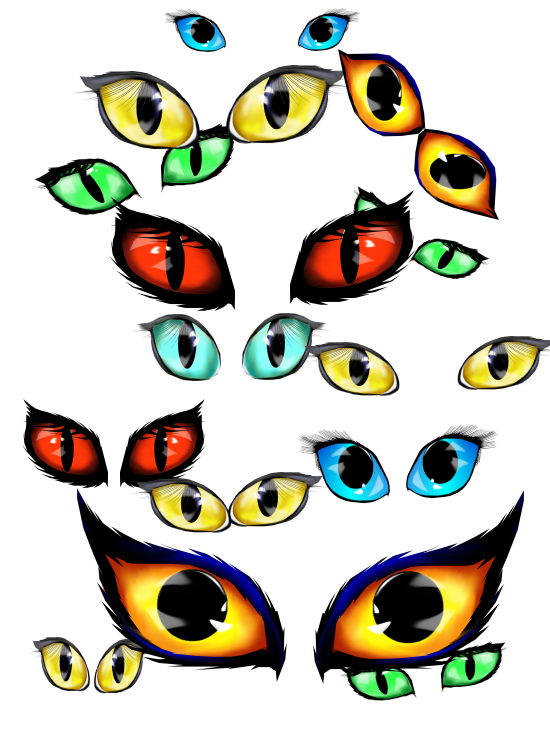 Halloween dancing clipart vector freeuse stock Eyeball Clipart Spooky Eye Free collection | Download and share ... vector freeuse stock