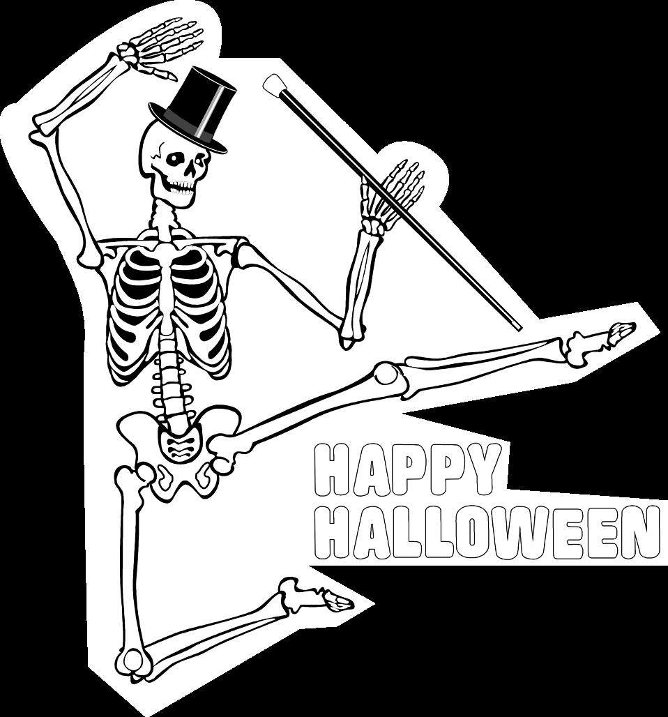 Halloween dancing skeleton clipart jpg freeuse download Skeleton | Free Stock Photo | Illustration of a dancing skeleton ... jpg freeuse download