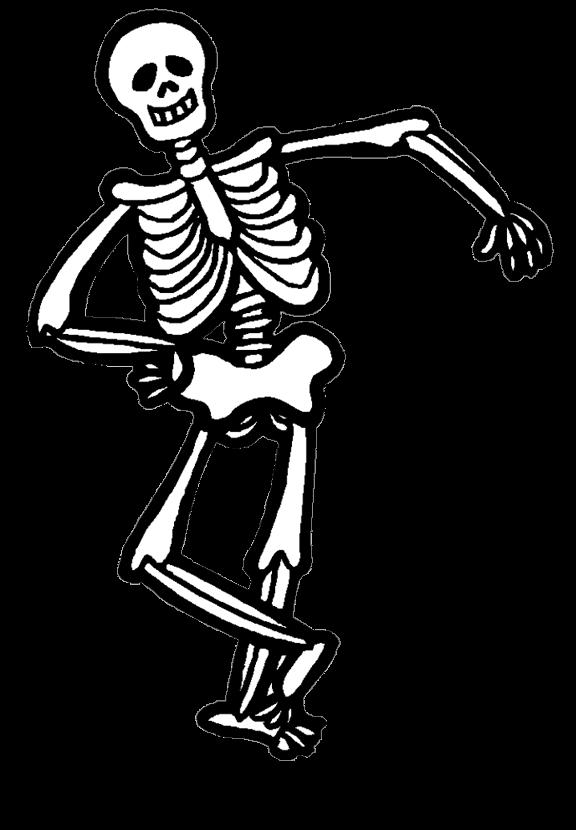 Halloween dancing skeleton clipart clip art library download Halloween USA 2018 clip art library download