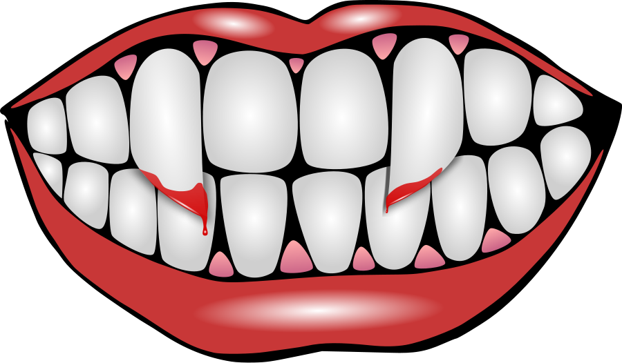 28+ Collection of Halloween Tooth Clipart | High quality, free ... graphic