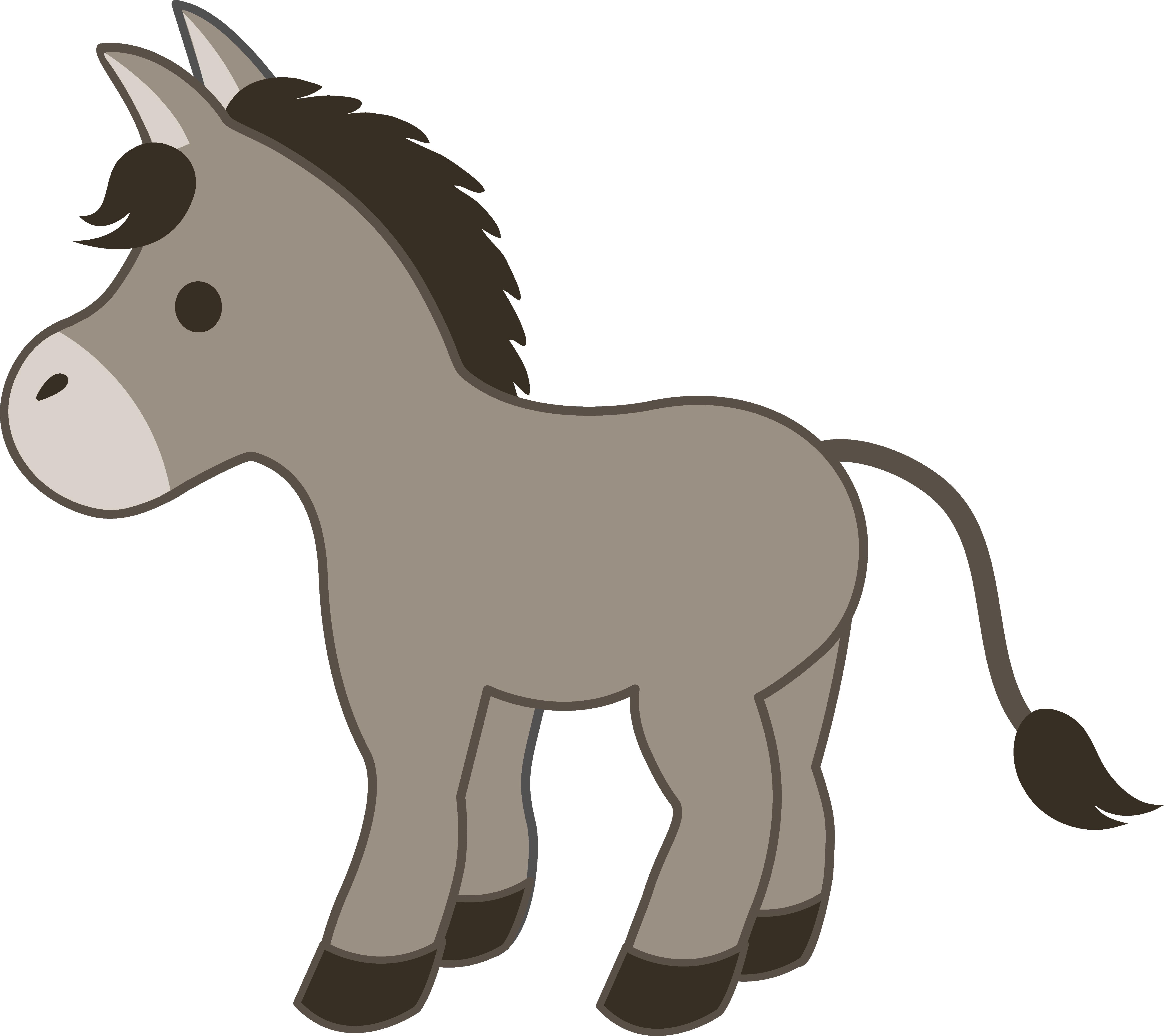Halloween donkey clipart image transparent stock Donkey is a fictional talking donkey created by William Steig and ... image transparent stock