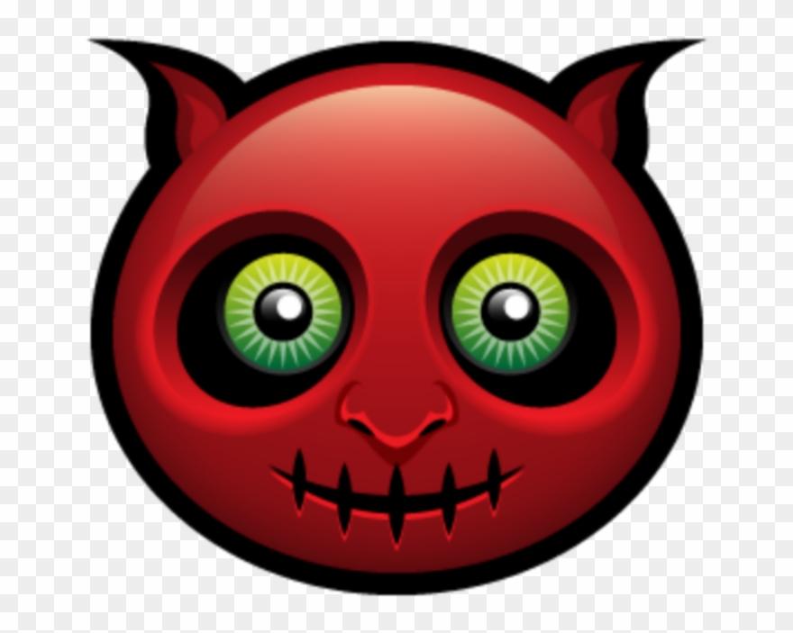 Halloween emoji clipart svg black and white download mq #red #demon #devil #emoji #emojis - Halloween Avatars Clipart ... svg black and white download