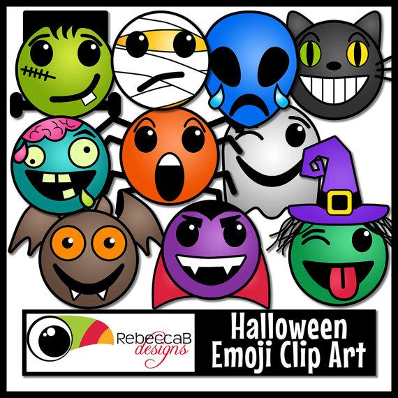 Halloween emoji clipart png Halloween Clip Art: Emoji Clip Art, Emotions Clip Art for Halloween ... png