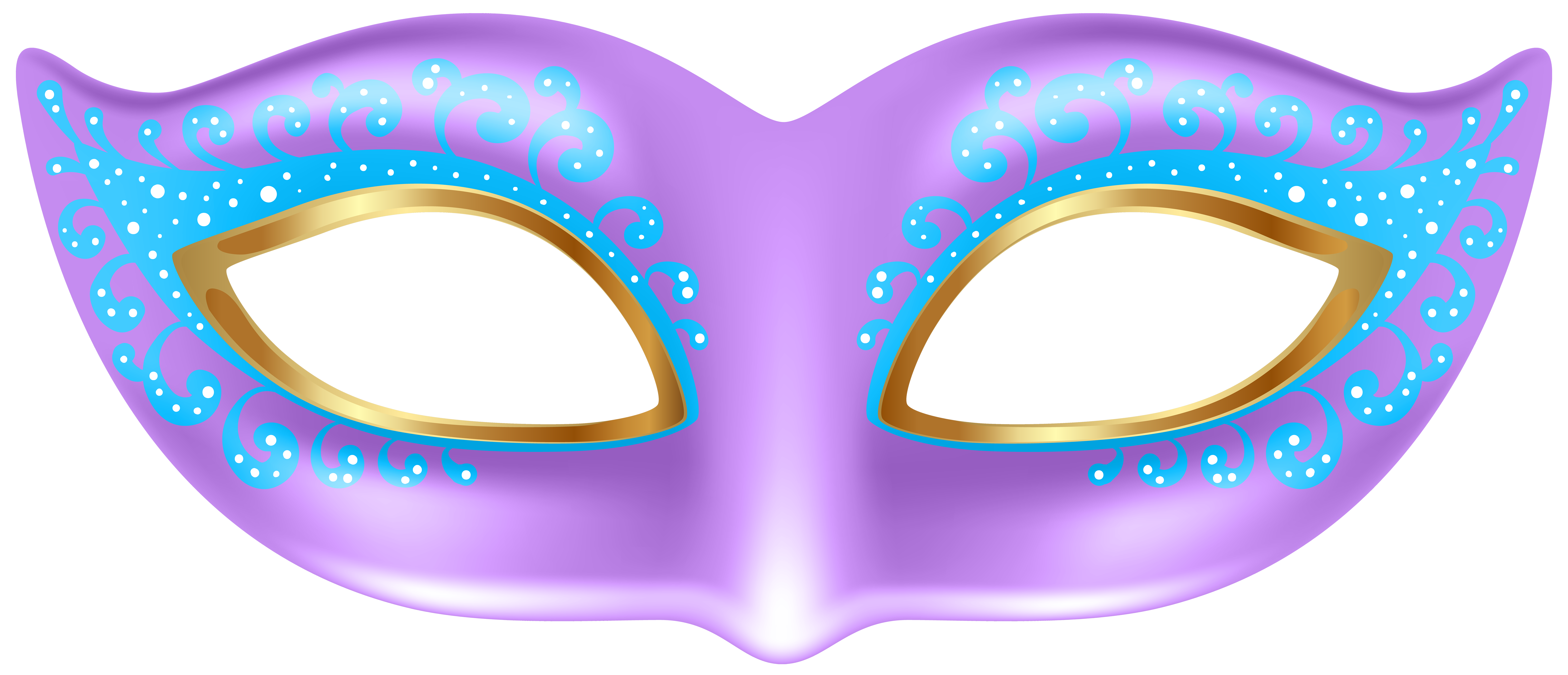 Halloween eye mask clipart clip royalty free stock Purple Mask Transparent PNG Clip Art Image   Gallery Yopriceville ... clip royalty free stock