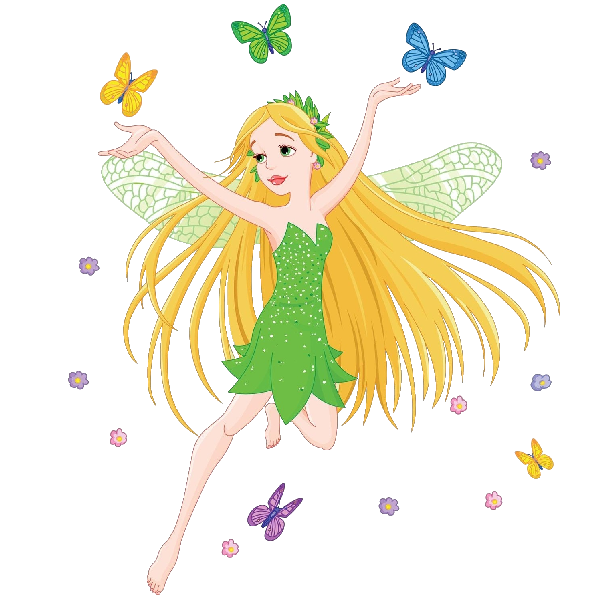 Halloween fairy clipart graphic black and white library Fairy Fairies Magical Images Clipart - 5038 - TransparentPNG graphic black and white library