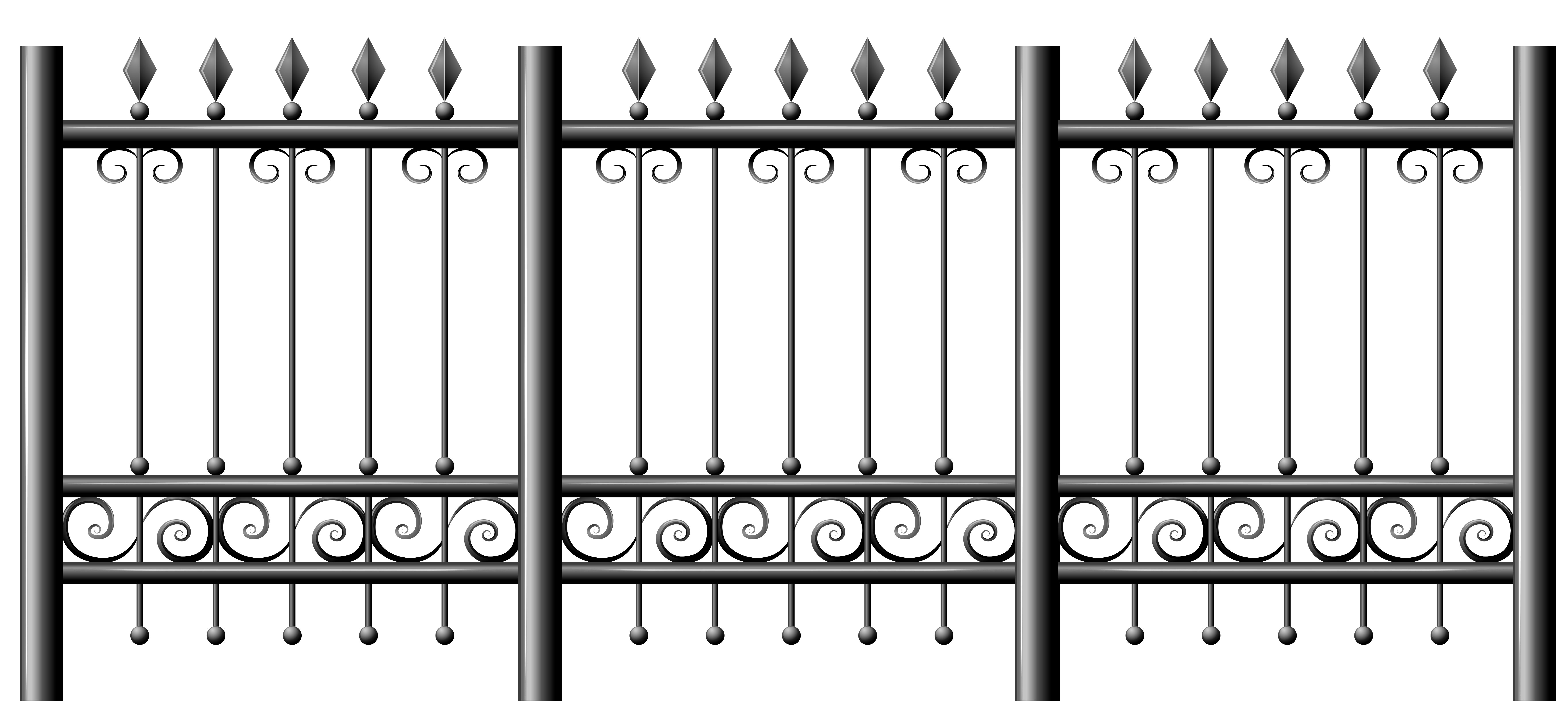 School fence clipart clip art library download Transparent Iron Fence PNG Clipart | Gallery Yopriceville - High ... clip art library download