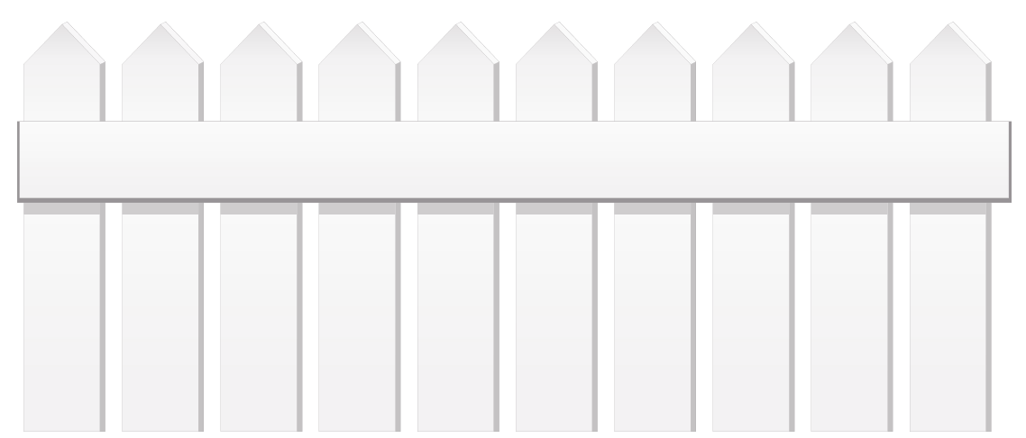 White Fence PNG Clipart | Gallery Yopriceville - High-Quality ... picture library library