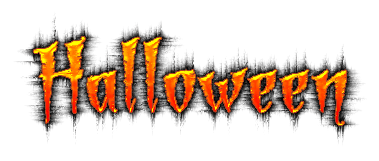 Happy halloween clipart font vector library library halloween word - Gecce.tackletarts.co vector library library