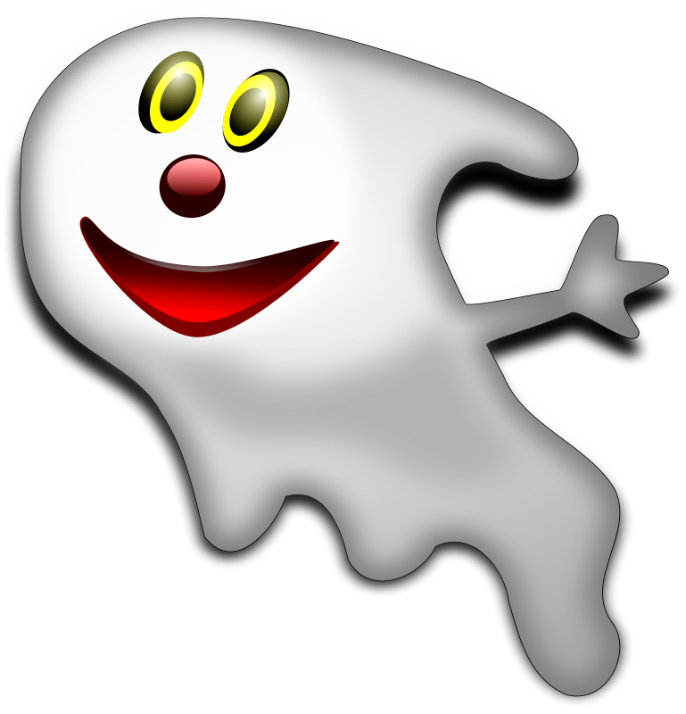 Halloween ghosts clipart clipart Ghost | Free Stock Photo | Illustration of a halloween ghost | # 12113 clipart